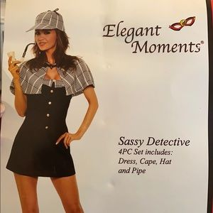 Sassy Detective Costume
